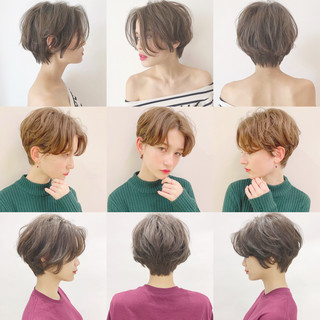 パーマ アウトドア デート スポーツ ヘアスタイルや髪型の写真・画像