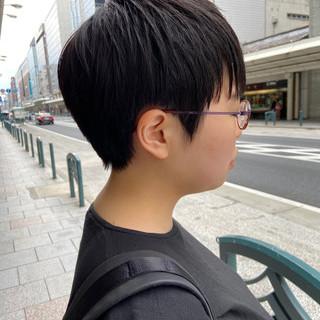 ナチュラル ハンサムショート ショートヘア 大人ショート ヘアスタイルや髪型の写真・画像