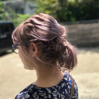 女子会 デート モード 編み込み ヘアスタイルや髪型の写真・画像 ヘアスタイルや髪型の写真・画像