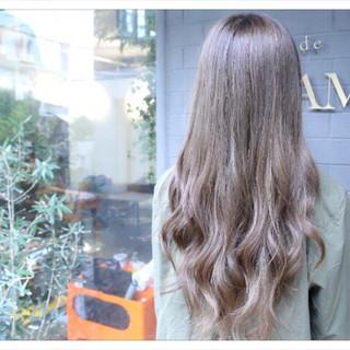 ロング グラデーションカラー 上品 外国人風 ヘアスタイルや髪型の写真・画像