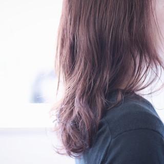 無造作パーマ パーマ ゆるふわパーマ ピンクラベンダー ヘアスタイルや髪型の写真・画像