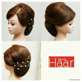 着物 モード ヘアアレンジ ロング ヘアスタイルや髪型の写真・画像