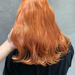 ヘアアレンジ ストリート ロング ミルクティーグレージュ ヘアスタイルや髪型の写真・画像