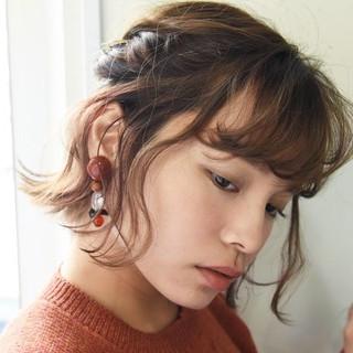 ナチュラル 編み込み ヘアアレンジ 結婚式 ヘアスタイルや髪型の写真・画像 ヘアスタイルや髪型の写真・画像