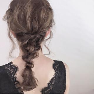 透明感 ヘアアレンジ 外国人風 結婚式 ヘアスタイルや髪型の写真・画像