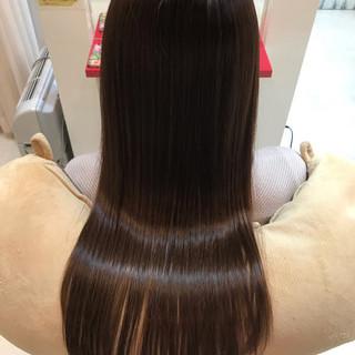 ナチュラル 髪質改善 髪質改善安達瞭 ロング ヘアスタイルや髪型の写真・画像 ヘアスタイルや髪型の写真・画像