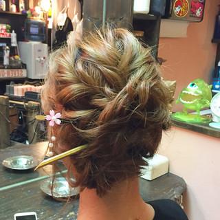 ヘアアレンジ 和装 アップスタイル ロング ヘアスタイルや髪型の写真・画像 ヘアスタイルや髪型の写真・画像