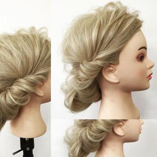 大人かわいい フェミニン 外国人風 ゆるふわ ヘアスタイルや髪型の写真・画像