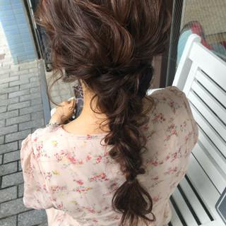 簡単ヘアアレンジ ヘアアレンジ デート ヘアセット ヘアスタイルや髪型の写真・画像 ヘアスタイルや髪型の写真・画像