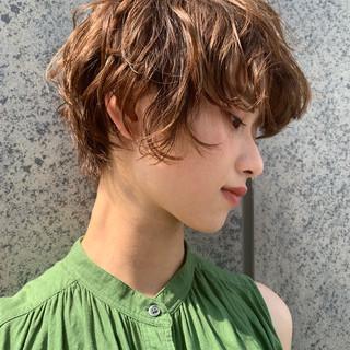 パーマ PEEK-A-BOO ガーリー 似合わせカット ヘアスタイルや髪型の写真・画像