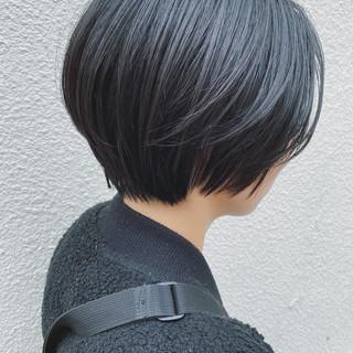 ショートヘア 大人女子 ナチュラル ボブ ヘアスタイルや髪型の写真・画像