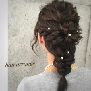 夏 ショート ハーフアップ 簡単ヘアアレンジ ヘアスタイルや髪型の写真・画像 ヘアスタイルや髪型の写真・画像