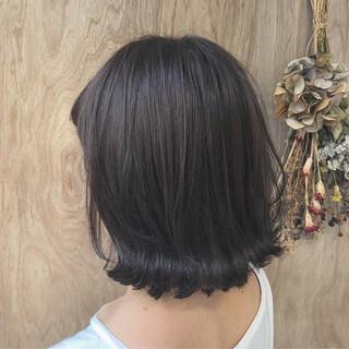 ブリーチ ボブ グラデーションカラー ナチュラル ヘアスタイルや髪型の写真・画像