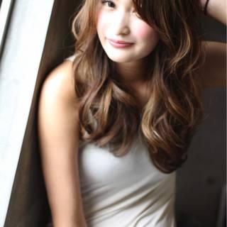 ロング コンサバ パンク フェミニン ヘアスタイルや髪型の写真・画像