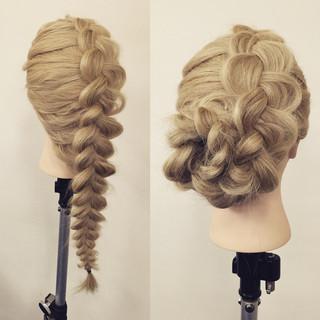 ヘアアレンジ フェミニン ロング 大人かわいい ヘアスタイルや髪型の写真・画像