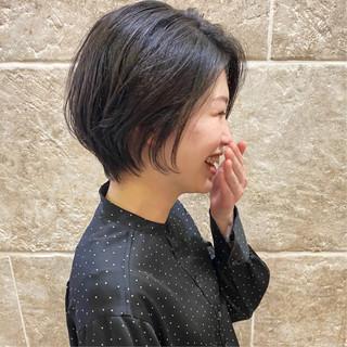 ショートヘア 大人ショート ショート ショートボブ ヘアスタイルや髪型の写真・画像