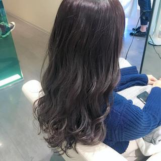 イルミナカラー 冬 暗髪 ロング ヘアスタイルや髪型の写真・画像 ヘアスタイルや髪型の写真・画像