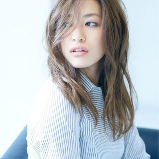 大人かわいい コンサバ フェミニン ミディアム ヘアスタイルや髪型の写真・画像