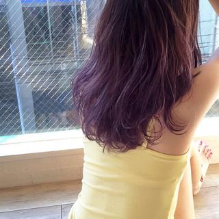 外国人風 大人かわいい ストリート くせ毛風 ヘアスタイルや髪型の写真・画像