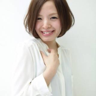 愛され 大人かわいい コンサバ 丸顔 ヘアスタイルや髪型の写真・画像