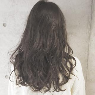 外国人風 ロング ブラウン 大人かわいい ヘアスタイルや髪型の写真・画像