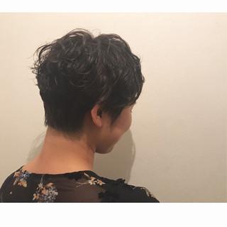 パーマ ストリート 夏 涼しげ ヘアスタイルや髪型の写真・画像 ヘアスタイルや髪型の写真・画像