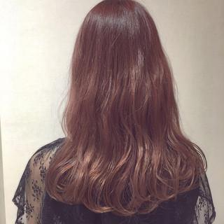 ピンク ラベンダーピンク 外国人風カラー イルミナカラー ヘアスタイルや髪型の写真・画像