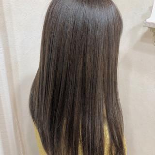 透明感 ロング ヌーディベージュ 外国人風カラー ヘアスタイルや髪型の写真・画像