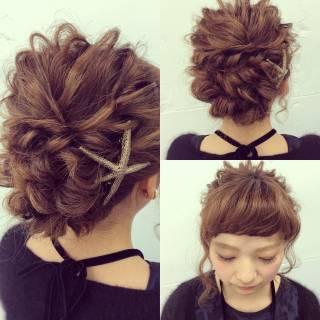 簡単ヘアアレンジ ロング ルーズ ナチュラル ヘアスタイルや髪型の写真・画像 ヘアスタイルや髪型の写真・画像