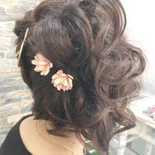 ロング アウトドア 成人式 ストリート ヘアスタイルや髪型の写真・画像