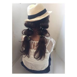 ヘアアレンジ 雨の日 女子会 ロング ヘアスタイルや髪型の写真・画像