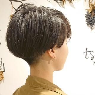 ショートヘア ツーブロック ショート マッシュショート ヘアスタイルや髪型の写真・画像