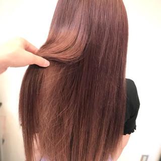 外国人風 ガーリー ロング デート ヘアスタイルや髪型の写真・画像