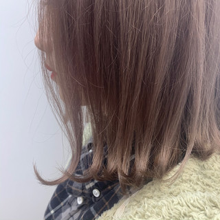 ナチュラル 切りっぱなしボブ ウルフカット ミニボブ ヘアスタイルや髪型の写真・画像