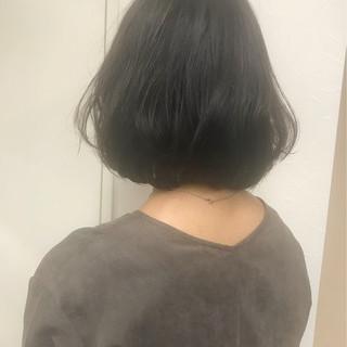 冬 オフィス ナチュラル グレージュ ヘアスタイルや髪型の写真・画像