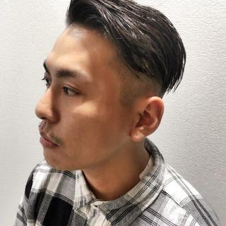 坊主 黒髪 刈り上げ ストリート ヘアスタイルや髪型の写真・画像