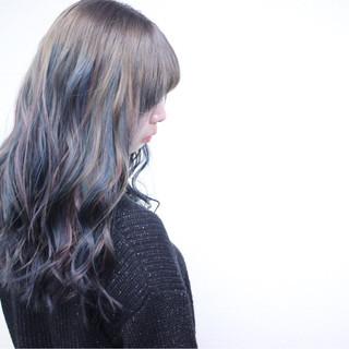 ストリート 冬 セミロング 愛され ヘアスタイルや髪型の写真・画像
