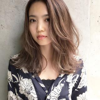 ストリート 外国人風カラー ハイライト アッシュ ヘアスタイルや髪型の写真・画像