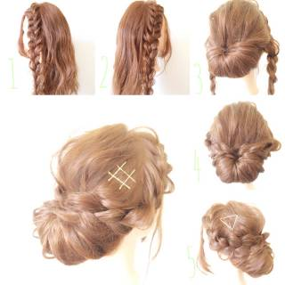 ナチュラル 大人かわいい フィッシュボーン 卵型 ヘアスタイルや髪型の写真・画像 ヘアスタイルや髪型の写真・画像