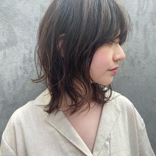 ミディアムレイヤー 大人ミディアム 鎖骨ミディアム ミディアム ヘアスタイルや髪型の写真・画像