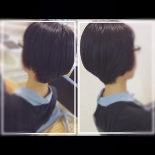 黒髪 艶髪 大人ヘアスタイル オフィス ヘアスタイルや髪型の写真・画像