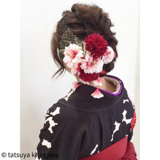 花嫁 成人式 結婚式 アッシュ ヘアスタイルや髪型の写真・画像