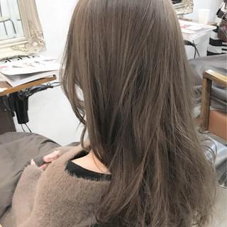 ナチュラル アッシュ グレージュ ベージュ ヘアスタイルや髪型の写真・画像