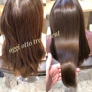 ロング オフィス ナチュラル oggiotto ヘアスタイルや髪型の写真・画像