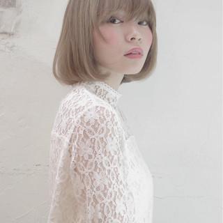 ハイライト 大人かわいい 透明感 ピュア ヘアスタイルや髪型の写真・画像