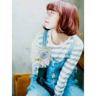 ストレート フェミニン 外国人風 ストリート ヘアスタイルや髪型の写真・画像