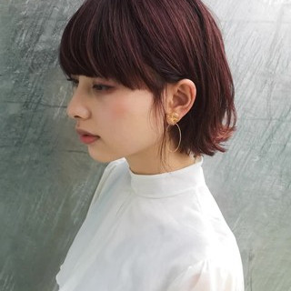ラベンダーピンク 大人かわいい 大人女子 イルミナカラー ヘアスタイルや髪型の写真・画像