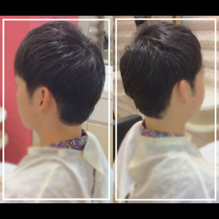 ショート オフィス メンズ 社会人の味方 ヘアスタイルや髪型の写真・画像