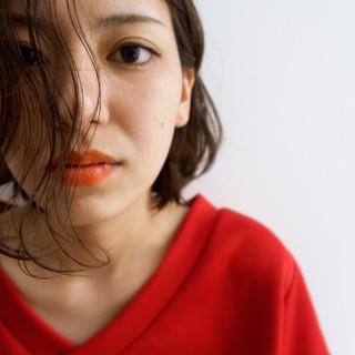 ベージュ 透明感 大人女子 秋 ヘアスタイルや髪型の写真・画像