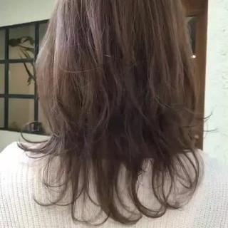 ゆるふわ 大人かわいい オフィス デート ヘアスタイルや髪型の写真・画像